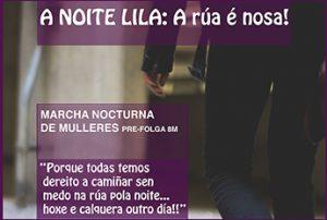 Marcha Nocturna: A noite lila